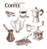 Sistema del drenaje de la mano del café Imagen de archivo libre de regalías