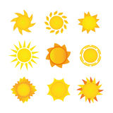 Sistema de Sun Fotografía de archivo libre de regalías