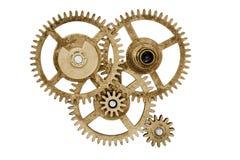 Sistema del engranaje del reloj Imágenes de archivo libres de regalías