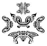 Sistema del estilo del tatuaje libre illustration