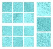 Sistema del fondo del mosaico Fotografía de archivo libre de regalías