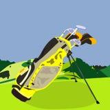 Sistema del golf Foto de archivo libre de regalías