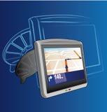 Sistema del GPS Ilustración del Vector