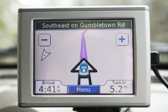 Sistema del GPS Imagenes de archivo