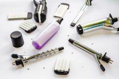 Sistema del Hairstyling Fotografía de archivo