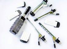 Sistema del Hairstyling Foto de archivo