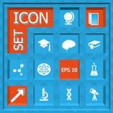 Sistema del icono Fotografía de archivo libre de regalías