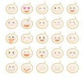 Sistema del icono del carácter· Bebé lindo stock de ilustración