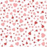 Sistema del icono del día de tarjetas del día de San Valentín stock de ilustración