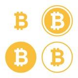 Sistema del icono de Bitcoin libre illustration