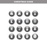 Sistema del icono de Chirstmas ilustración del vector