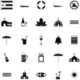 Sistema del icono de Cuba