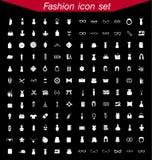 Sistema del icono de la moda Imagen de archivo