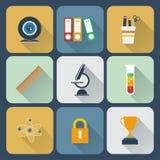 Sistema del icono de las herramientas Foto de archivo libre de regalías