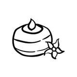 Sistema del icono del balneario Imagen de archivo