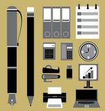 Sistema del icono del negocio Foto de archivo libre de regalías