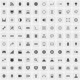 Sistema del icono del ordenador Fotografía de archivo libre de regalías