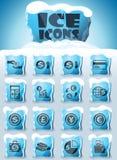 Sistema del icono del intercambio de moneda ilustración del vector