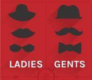 Sistema del inconformista de las señoras y de los señores Imagen de archivo