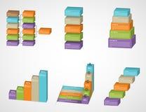 sistema del infographics de las opciones del extracto 3D libre illustration