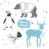 Sistema del invierno Imagen de archivo libre de regalías