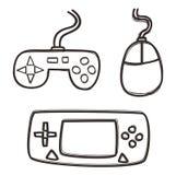 Sistema del juego Imagen de archivo libre de regalías