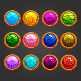Sistema del juego buttons-2 libre illustration