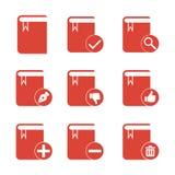 Sistema del libro Estilo plano EPS del diseño Imagen de archivo libre de regalías