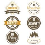 Sistema del logotipo, de la insignia, del emblema o del logotipo del vintage ilustración del vector