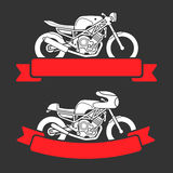 Sistema del logotipo de la motocicleta libre illustration