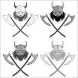 Sistema del logotipo de Viking libre illustration