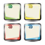 Sistema del mensaje Fotos de archivo