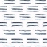 Sistema del modelo inconsútil del vector azul y blanco Elementos del diseño del libro de recuerdos Textura dibujada mano abstract Foto de archivo libre de regalías