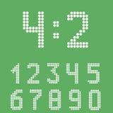 Sistema del número del marcador libre illustration