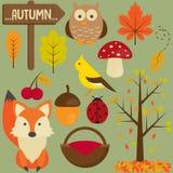 Sistema del otoño Fotografía de archivo libre de regalías