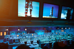 Sistema del panel de control  Fotografía de archivo