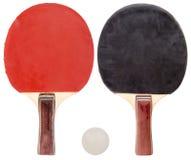 Sistema del ping-pong aislado Foto de archivo