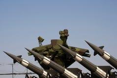 Sistema del razzo di S-125M Neva-M fotografia stock