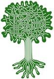 Sistema del árbol Foto de archivo libre de regalías
