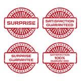 Sistema del sello de goma del Grunge. Imágenes de archivo libres de regalías