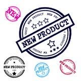 Sistema del sello del Grunge del nuevo producto Fotos de archivo