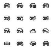 Sistema del servicio del coche Imagen de archivo libre de regalías