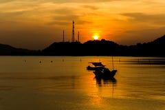 Sistema del sol del mar Fotografía de archivo