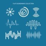 Sistema del sonido Imagen de archivo libre de regalías