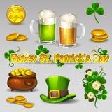 Sistema del St Patricks Imágenes de archivo libres de regalías