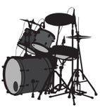 Sistema del tambor libre illustration