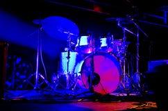Sistema del tambor imagen de archivo