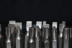 Sistema del tornillo de las herramientas Imagen de archivo libre de regalías