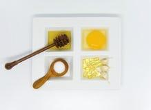 Sistema del tratamiento de la belleza de la atención sanitaria Fotografía de archivo libre de regalías