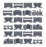Sistema del tren Fotografía de archivo libre de regalías